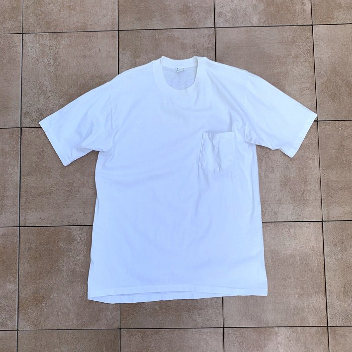 PENNEY'S TOWNCRAFT WHITE COTTON T-SHIRT