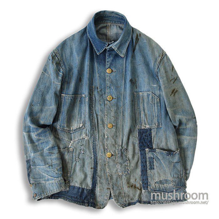 CROWN OVERALLS DENIM CHORE JACKET