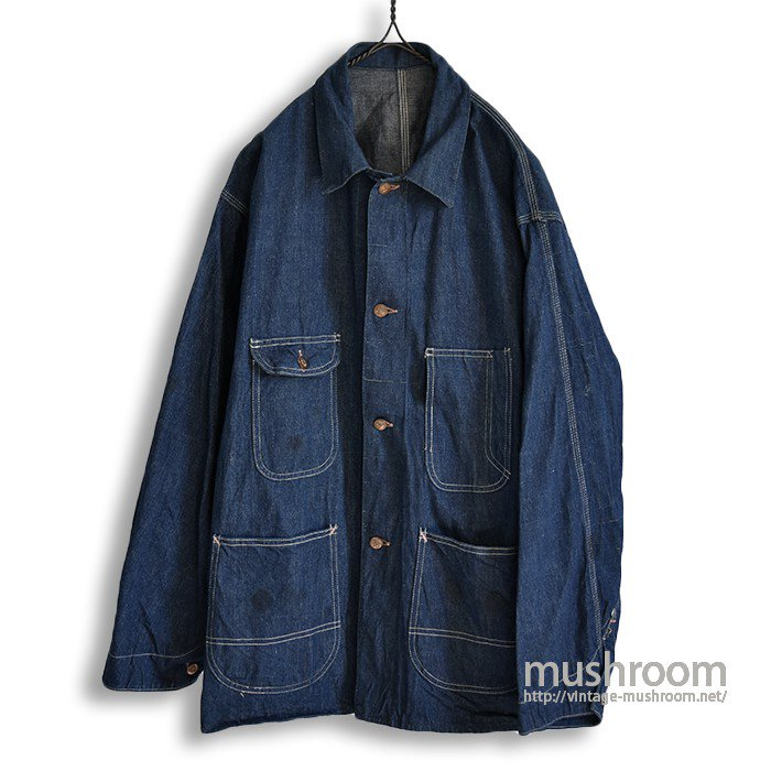 OLD RAILROAD DENIM COVERALL