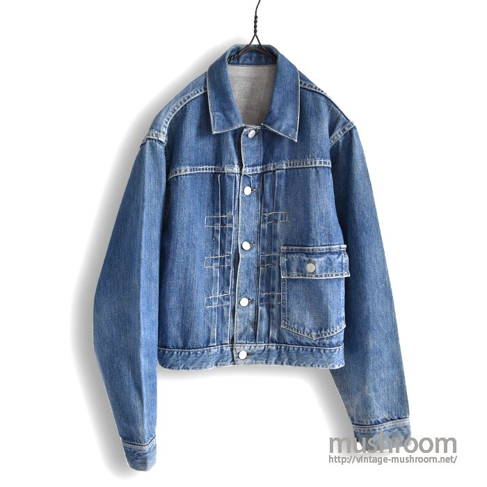 PENNEY'S FOREMOST ONE-POCKET DENIM JACKET