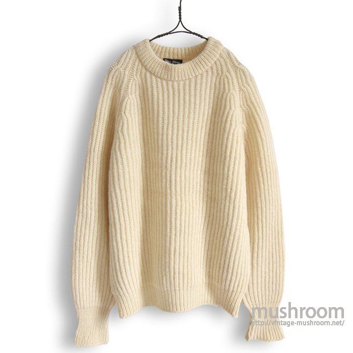 PETER STORM OILED WOOL SWEATER(L/MINT)