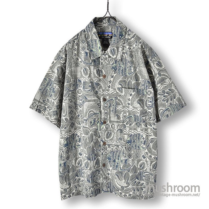 PATALOHA COTTON HAWAIIAN SHIRT