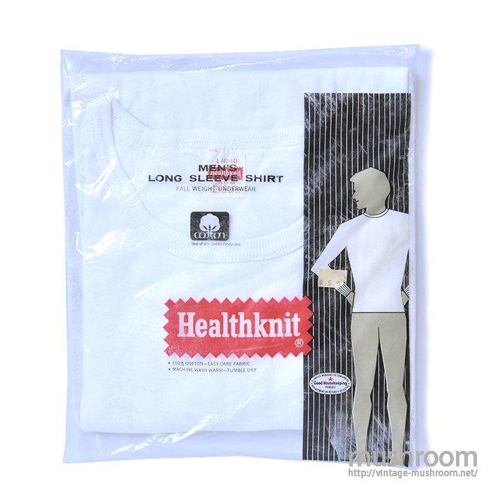 HEALTHKNIT LONG-SLEEVE T-SHIRT( L/DEADSTOCK )