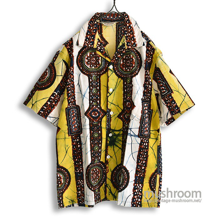 MCGREGOR BATIK PATTERN S/S SHIRT