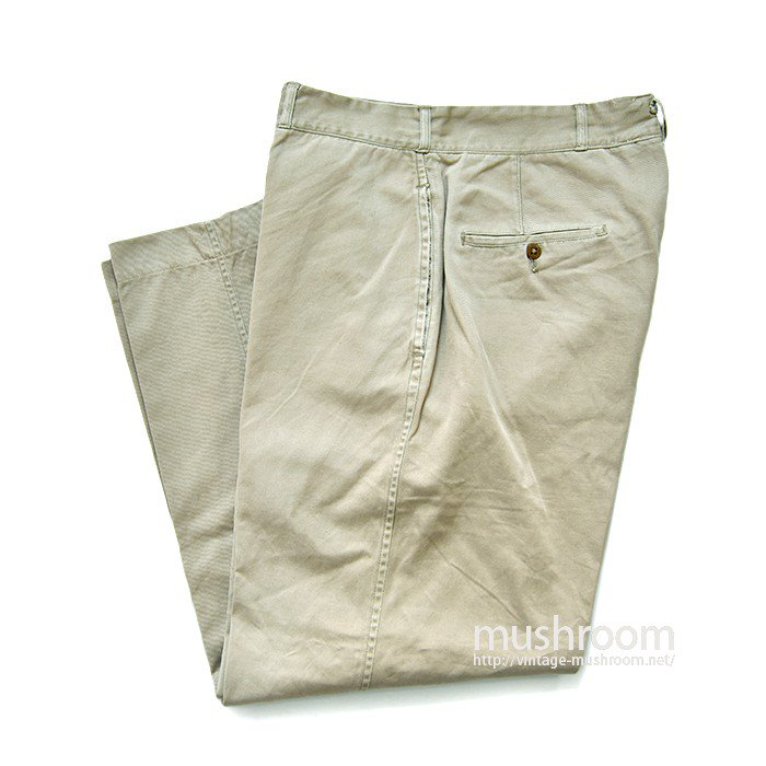 U.S.NAVAL CLOTHING DEPT CHINO TROUSERS