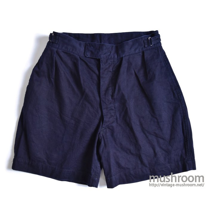 ROYAL ARMY BLUE DRILL SHORTS( MINT )