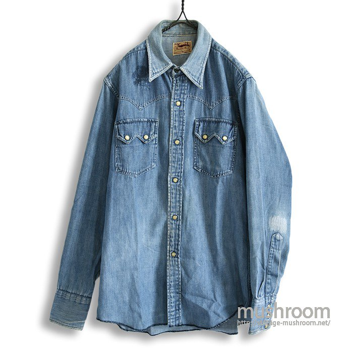 MILLER DENIM WESTERN SHIRT