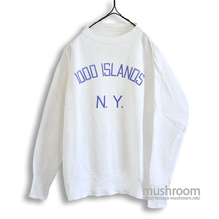 1000 ISLANDS N.Y SWEAT SHIRT