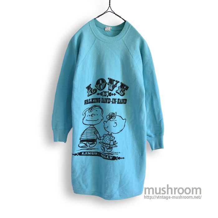 SPRUCE SNOOPY'S FRIEND SWEAT SHIRT(L/MINT)