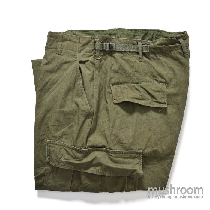 U.S.ARMY JUNGLE FATIGUE PANTS( M-SHORT/MINT )