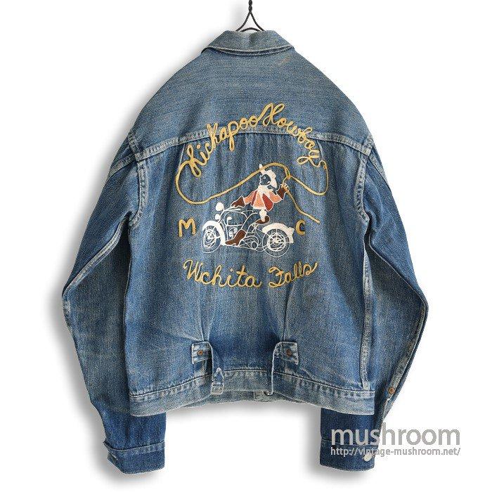 LEVI'S 506XX DENIM JACKET(Motorcycle Club)