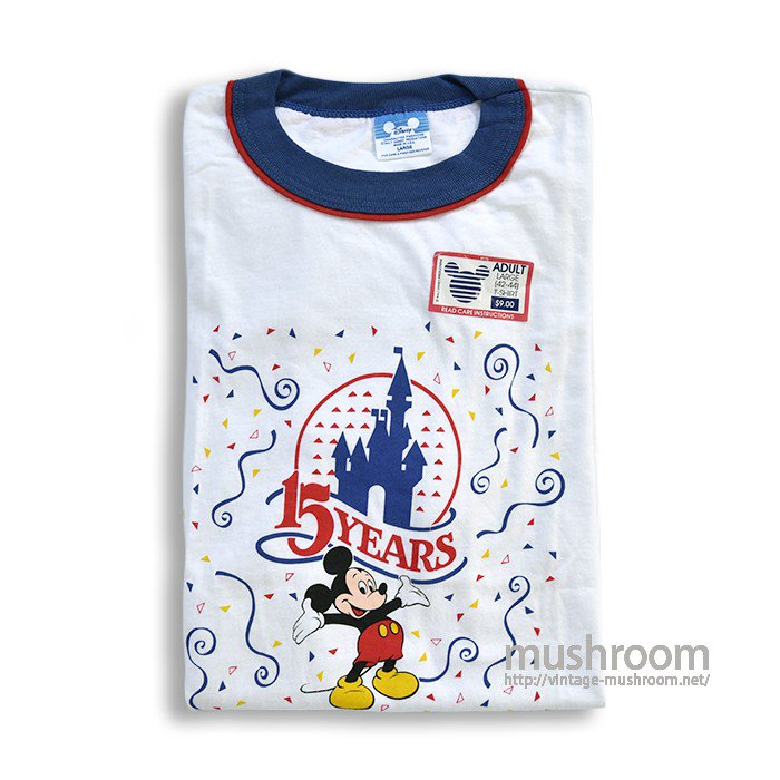 OLD MICKY MOUSE RINGER T-SHIRT(DEADSTOCK)