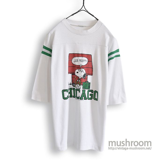 OLD SNOOPY FOOTBALL T-SHIRT