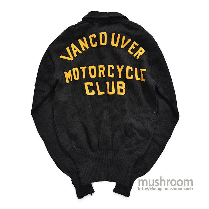 VANCOUVER M/C CLUB SWEATER