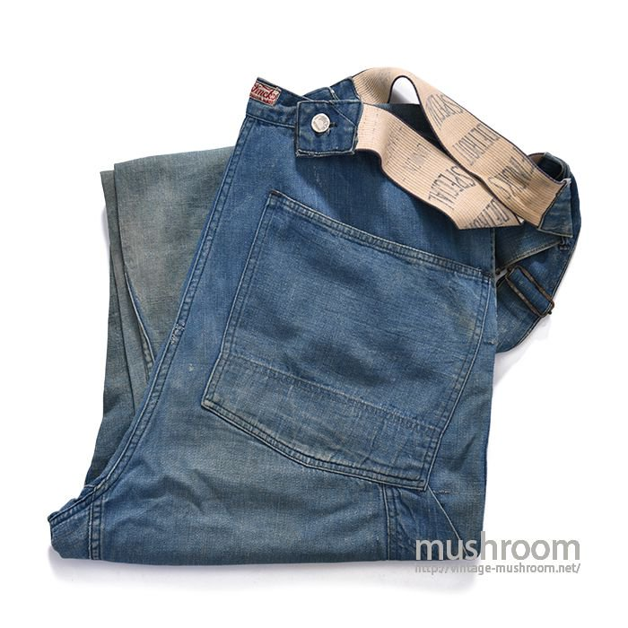 FINCK'S BLUE DENIM OVERALL