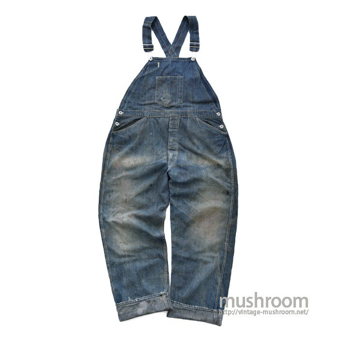 OLD DENIM OVERALL