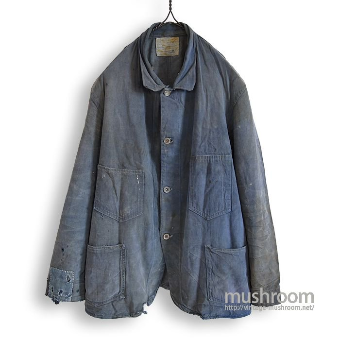 SHULL-DAY CO BLUE DENIM COVERALL