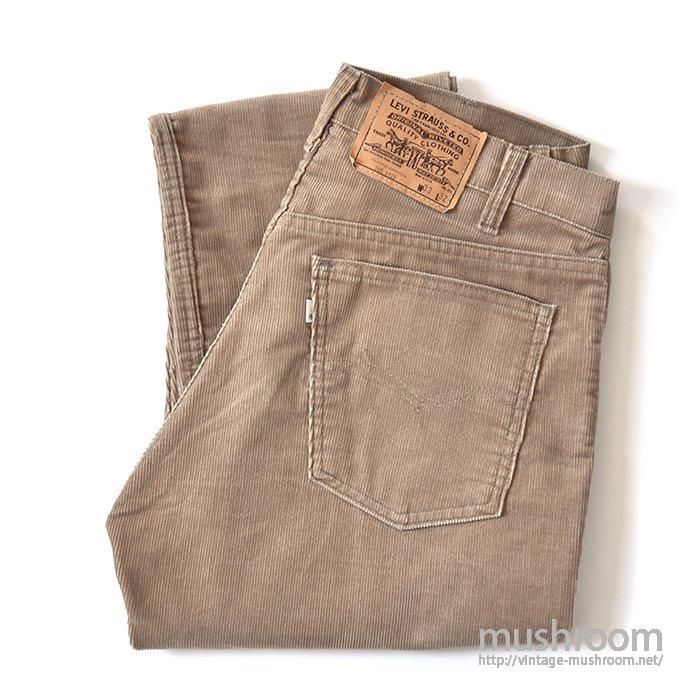 LEVI'S 505 CORDUROY PANTS(33-32/MINT)