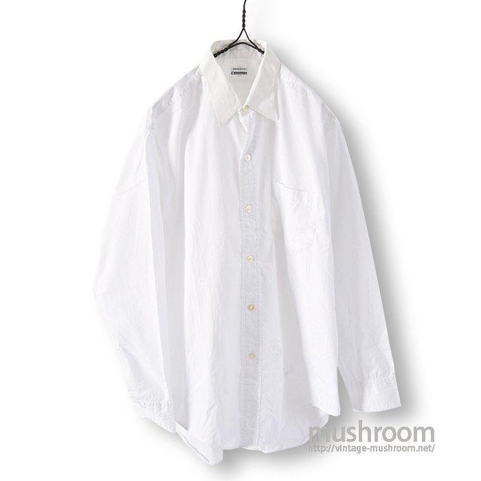 COMPASS WHITE COTTON SHIRT