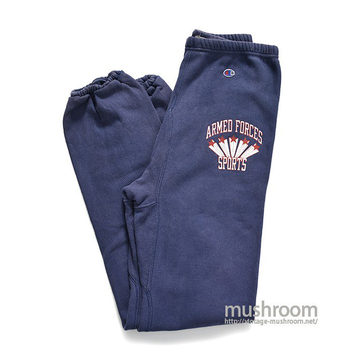CHAMPION ARMED FORCES SPORTS REVERSE WEAVE PANTS