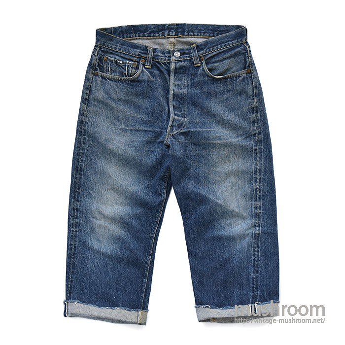 LEVI'S 501XX CUT-OFF JEANS( ONE SIDE TAB )