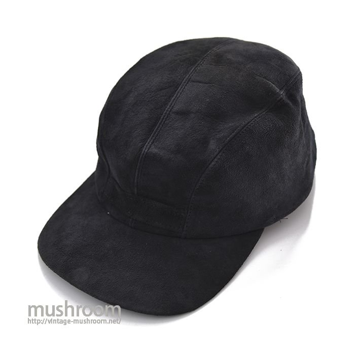 OLD NUBUCK LEATHER HUNTING CAP