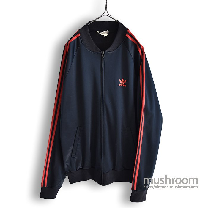 ADIDAS  JERSEY TOP(BLK&RED)