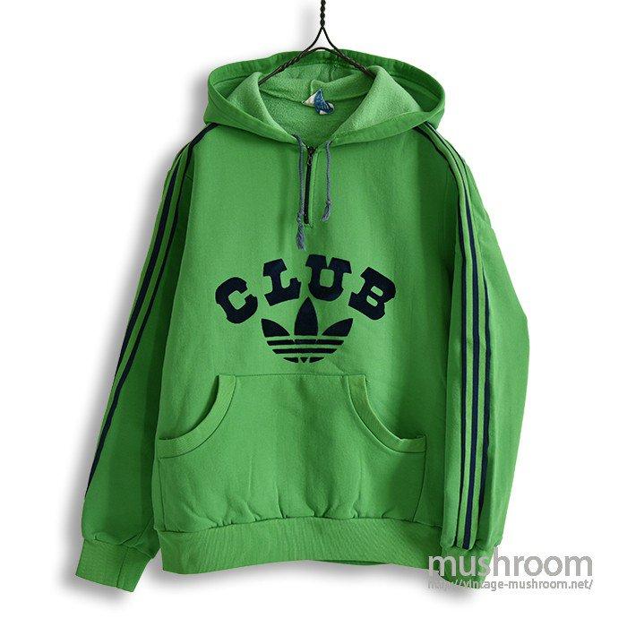 CLUB ADIDAS HALF-ZIP JERSEY TOP
