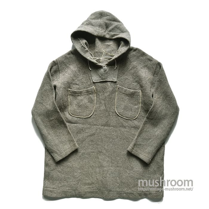 OLD ATHLETIC WOOL PARKA