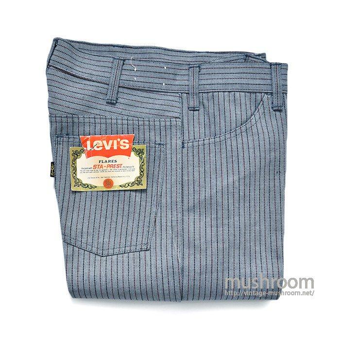 LEVI'S 646E STA-PREST FLARE PANTS( DEADSTOCK )