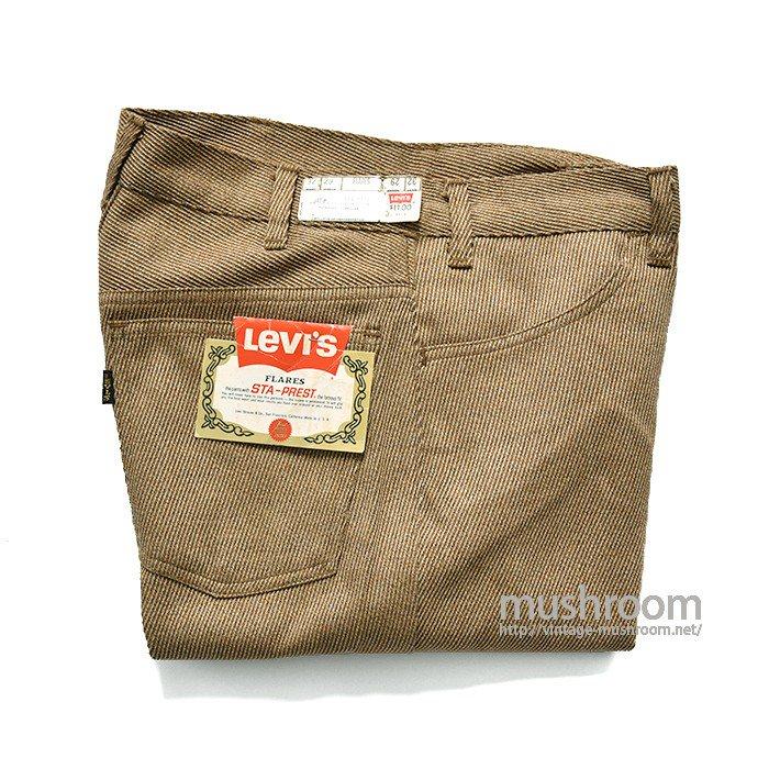 LEVI'S 646E STA-PREST FLARE PANTS( 32-29/DEADSTOCK )