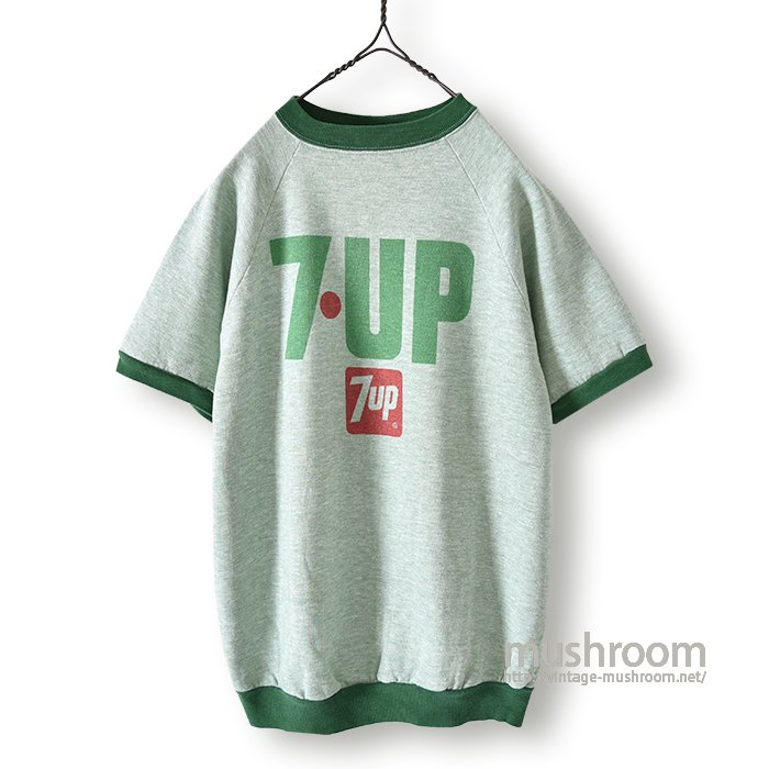 OLD 7UP ADVERTISING S/S SWEAT SHIRT