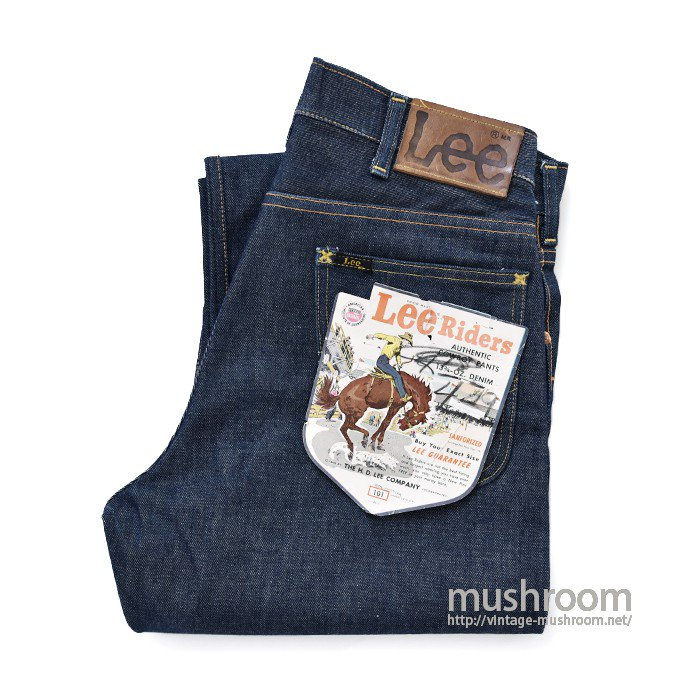 Lee 101B RIDERS JEANS(NON-WASHED/MINT)