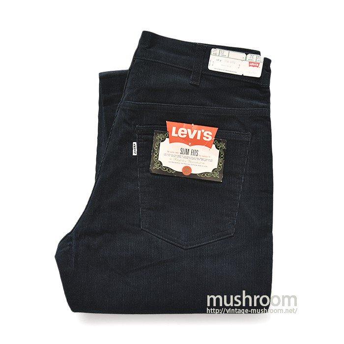 LEVI'S 518E I TYPE SLIM FITS CORDUROY PANTS( DEADSTOCK )