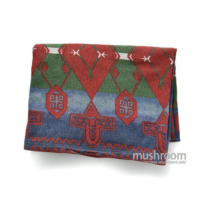 Ralph Lauren Aztec Southwestern Flat Cotton Sheet