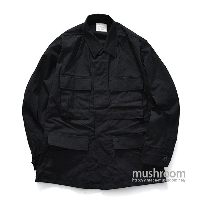 U.S.MILITARY BLACK 357 BDU JACKET( S-S/MINT )