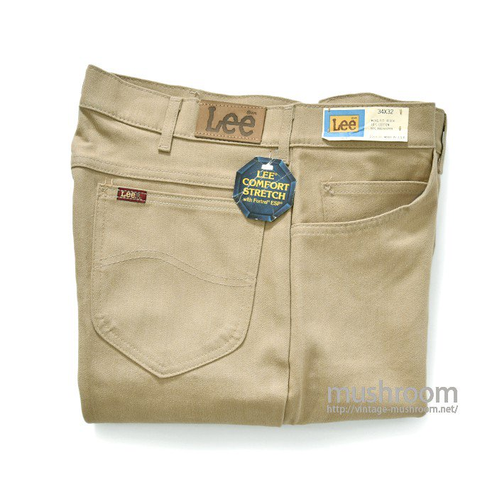 Lee 204-6123 MENS FIT RIDER PANTS(W34L32/DEASTOCK)