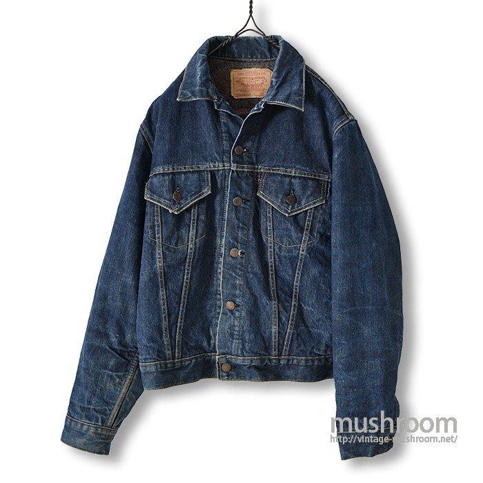 LEVI'S 70505-0317 BIGE DENIM JACKET