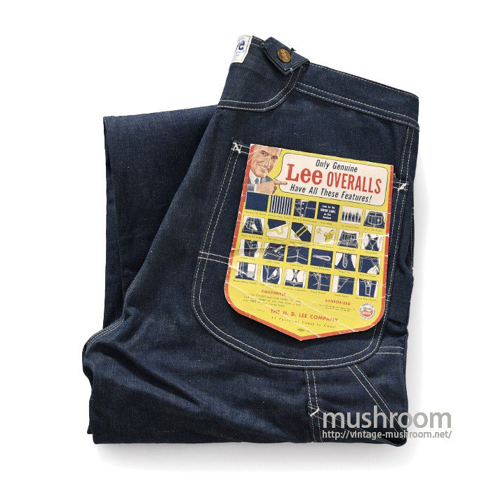 Lee DENIM OVERALL(DEADSTOCK)