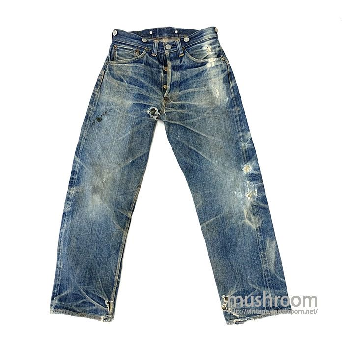 LEVI'S B503XX JEANS WITH BUCKLEBACK