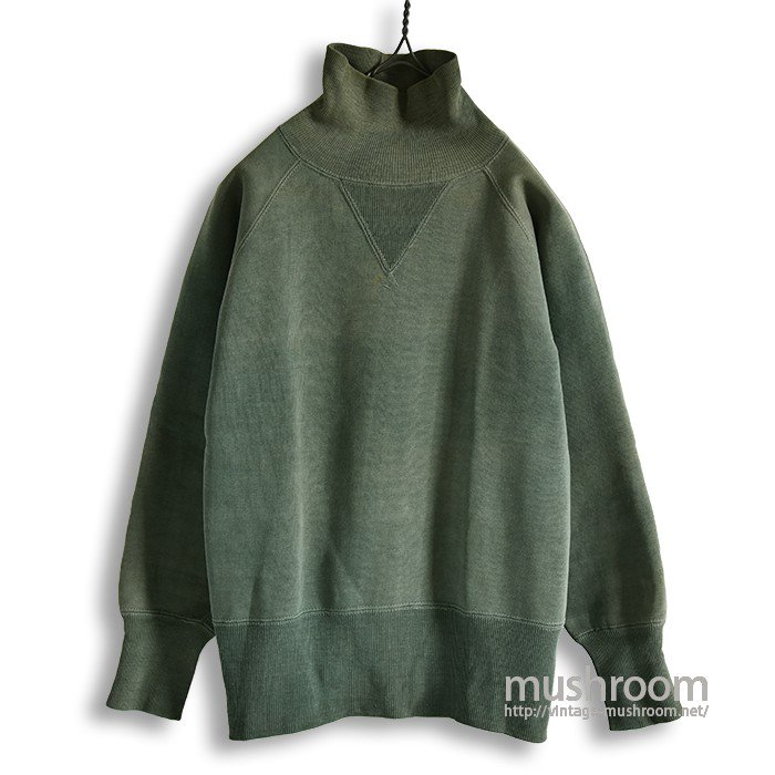 OLD W/V TURTLE-NECK SWEAT SHIRT