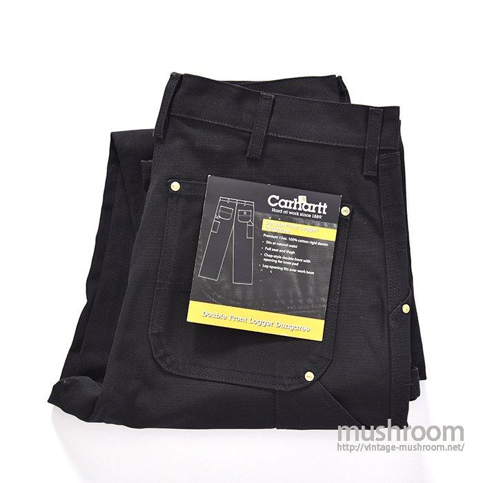 CARHARTT BLACK CANVAS PAINTER PANTS(DEADSTOCK)