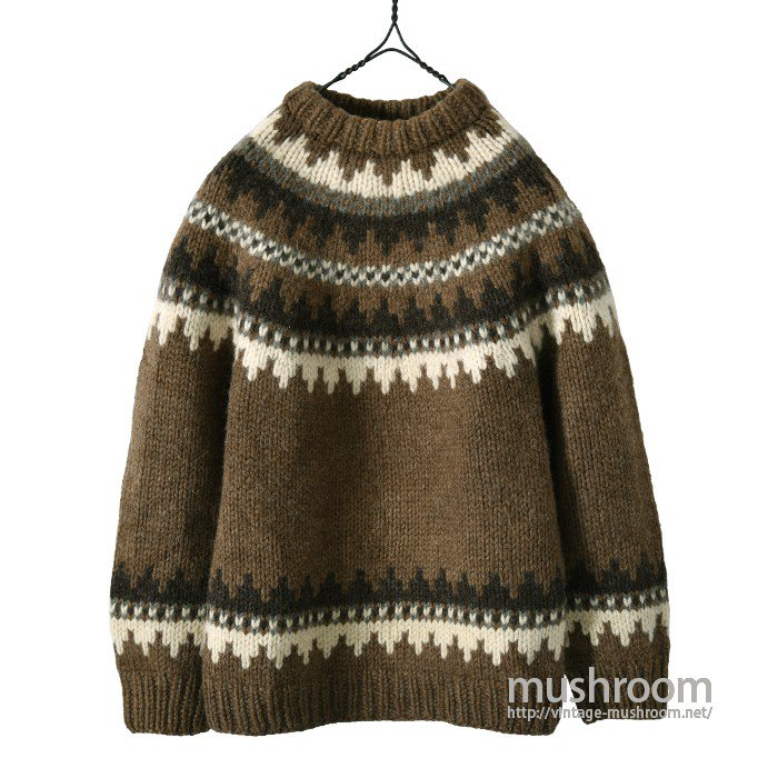 OLD NORDIC SWEATER