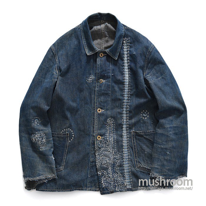 FINCH TWO-POCKET DENIM COVERALL