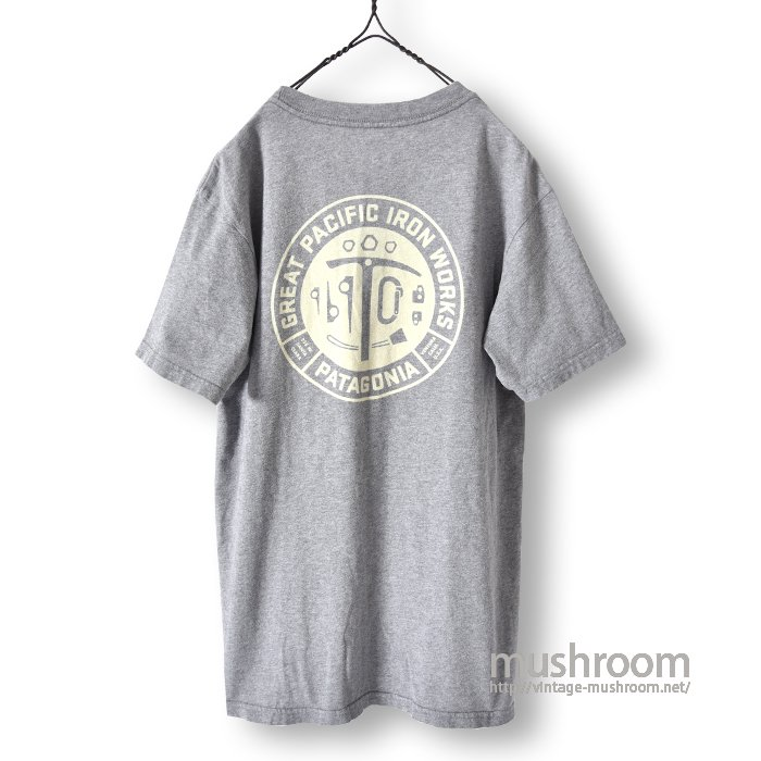 PATAGONIA GREAT PACIFIC IRON WORKS T-SHIRT