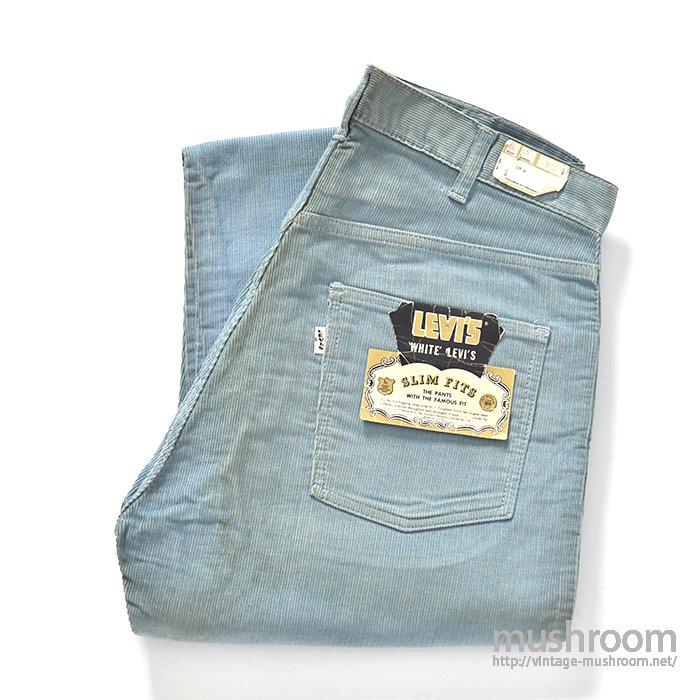 LEVI'S 518E SLIM FITS CORDUROY PANTS( 34-32/DEADSTOCK )