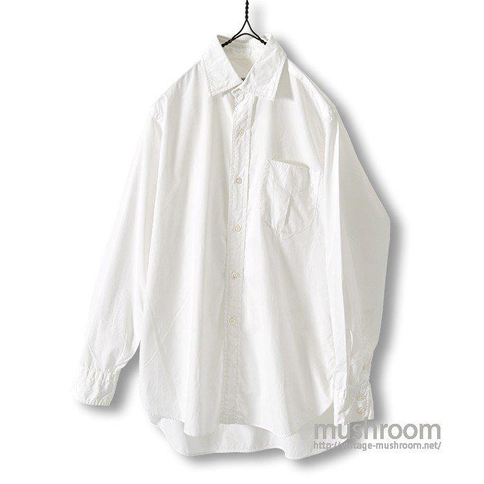 OLD WHITE COTTON L/S SHIRT