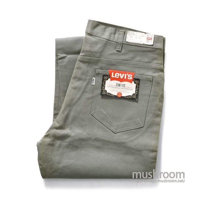 LEVI'S 518E SLIM FITS PANTS( W38L34/DEADSTOCK )