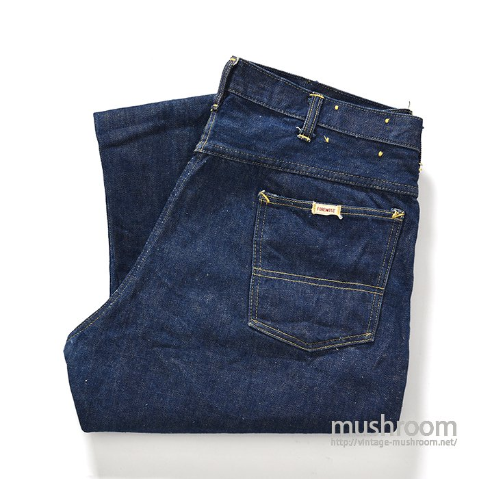 PENNEY'S FOREMOST 5POCKET JEANS( 1WASHED/MINT )