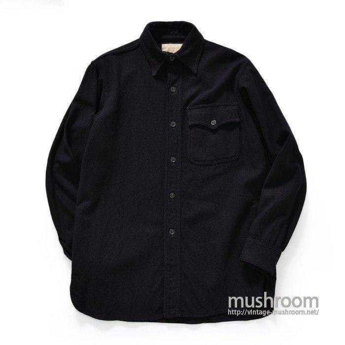 U.S.NAVAL CLOTHING FACTORY CPO WOOL SHIRT